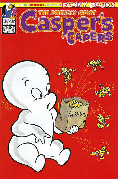Cover for Casper's Capers (American Mythology Productions, 2018 series) #6 [Retro Cover]
