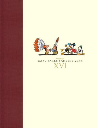 Cover for Carl Barks samlede verk (Hjemmet / Egmont, 2005 series) #16