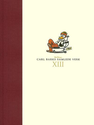 Cover for Carl Barks samlede verk (Hjemmet / Egmont, 2005 series) #13