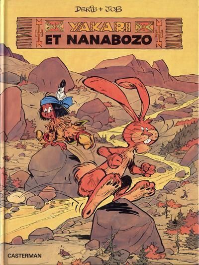 Cover for Yakari (Casterman, 1977 series) #4 - Yakari et Nanabozo