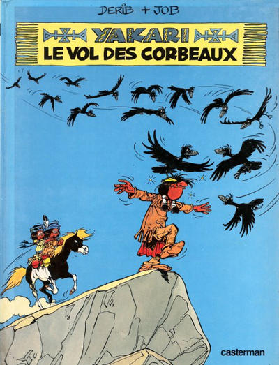 Cover for Yakari (Casterman, 1977 series) #14 - Le vol des corbeaux
