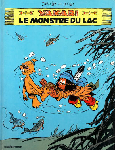 Cover for Yakari (Casterman, 1977 series) #17 - Le monstre du lac