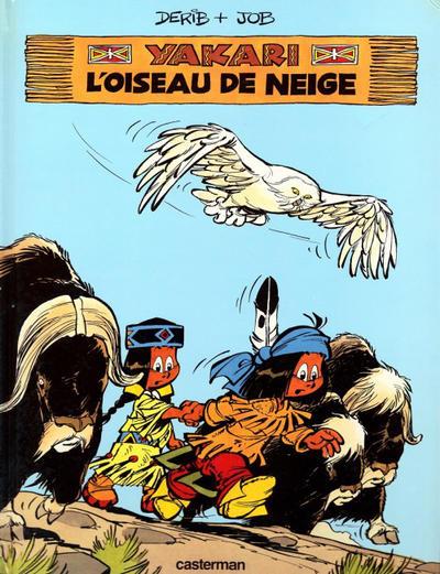 Cover for Yakari (Casterman, 1977 series) #18 - L'oiseau de neige