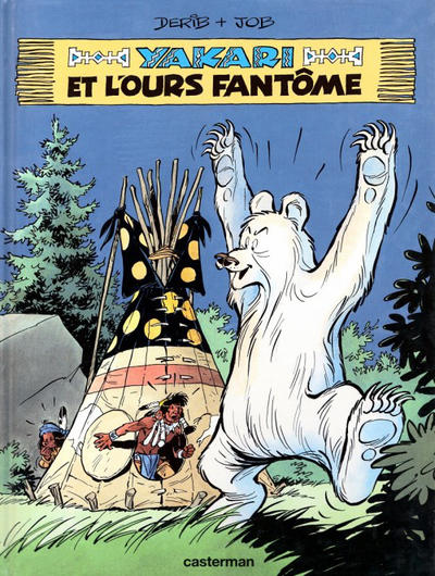 Cover for Yakari (Casterman, 1977 series) #24 - Yakari et l'ours fantôme