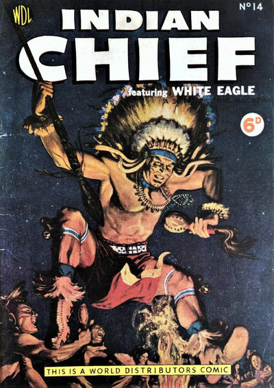 Cover for Indian Chief (World Distributors, 1953 series) #14