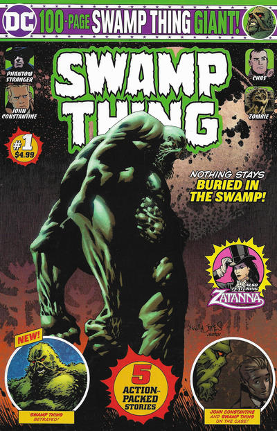 Cover for Swamp Thing Giant (DC, 2019 series) #1 [Direct Market Edition]