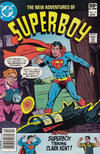 Cover for The New Adventures of Superboy (DC, 1980 series) #16 [Newsstand]