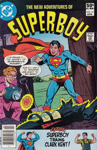 Cover Thumbnail for The New Adventures of Superboy (DC, 1980 series) #16 [Newsstand]
