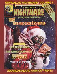 Cover Thumbnail for Gwandanaland Comics (Gwandanaland Comics, 2016 series) #2412 - Skywald's Nightmare: Volume 7