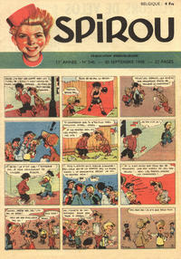 Cover Thumbnail for Spirou (Dupuis, 1947 series) #546
