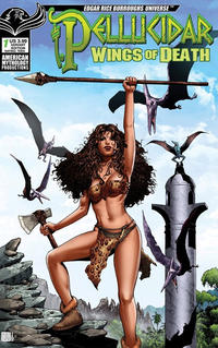 Cover Thumbnail for Pellucidar: Wings of Death (American Mythology Productions, 2019 series) #1 [Variant Cover]