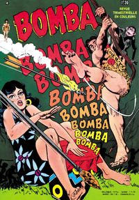 Cover Thumbnail for Bomba (Arédit-Artima, 1969 series) #4