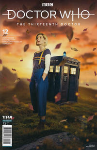Cover Thumbnail for Doctor Who: The Thirteenth Doctor (Titan, 2018 series) #12 [Cover B]