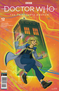Cover Thumbnail for Doctor Who: The Thirteenth Doctor (Titan, 2018 series) #12 [Cover A]