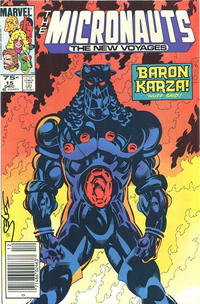 Cover Thumbnail for Micronauts (Marvel, 1984 series) #15 [Canadian]