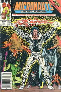 Cover Thumbnail for Micronauts (Marvel, 1984 series) #16 [Canadian]