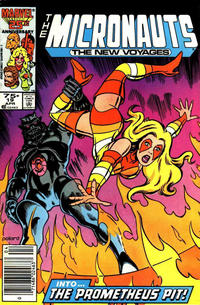 Cover Thumbnail for Micronauts (Marvel, 1984 series) #19 [Newsstand]