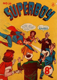 Cover for Superboy (K. G. Murray, 1949 series) #36