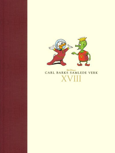 Cover for Carl Barks samlede verk (Hjemmet / Egmont, 2005 series) #18