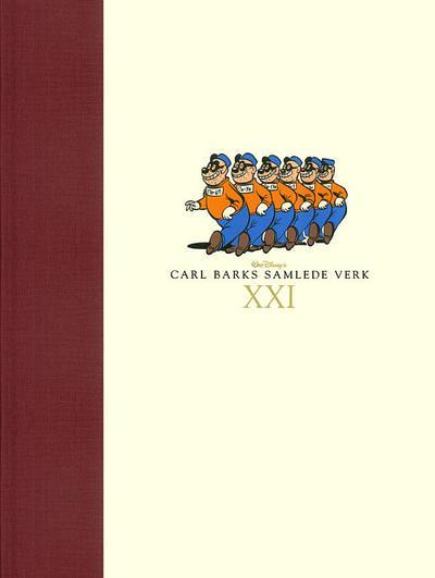 Cover for Carl Barks samlede verk (Hjemmet / Egmont, 2005 series) #21
