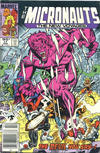 Cover for Micronauts (Marvel, 1984 series) #17 [Canadian]