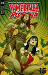 Cover Thumbnail for Vampirella/Red Sonja (2019 series) #1 [Cover B Julian Totino Tedesco]