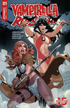 Cover Thumbnail for Vampirella/Red Sonja (2019 series) #1 [Cover A Terry Dodson]