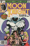 Cover for Moon Knight (Marvel, 1980 series) #1 [Newsstand]