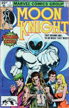 Cover for Moon Knight (Marvel, 1980 series) #1 [British]