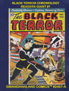 Cover for Gwandanaland Comics (Gwandanaland Comics, 2016 series) #2467-A - Black Terror Chronology Readers Giant #1
