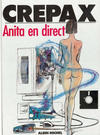 Cover for Anita (Albin Michel, 1981 series) #3 - Anita en direct