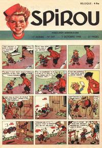 Cover Thumbnail for Spirou (Dupuis, 1947 series) #547