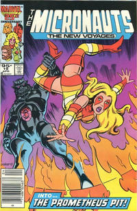 Cover Thumbnail for Micronauts (Marvel, 1984 series) #19 [Canadian]