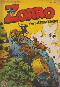 Cover Thumbnail for Zorro (L. Miller & Son, 1952 series) #56