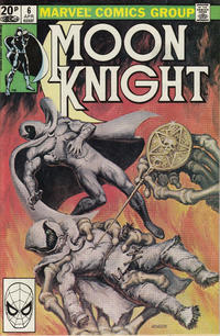 Cover Thumbnail for Moon Knight (Marvel, 1980 series) #6 [British]