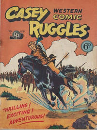 Cover Thumbnail for Casey Ruggles Western Comic (Donald F. Peters, 1951 series) #21