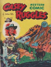 Cover for Casey Ruggles Western Comic (Donald F. Peters, 1951 series) #20