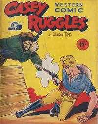 Cover Thumbnail for Casey Ruggles Western Comic (Donald F. Peters, 1951 series) #16