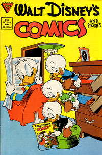 Cover Thumbnail for Walt Disney's Comics and Stories (Gladstone, 1986 series) #518 [Newsstand]