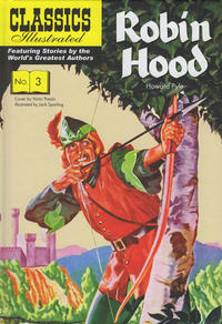 Cover Thumbnail for Classics Illustrated (Classic Comic Store, 2018 series) #3 - Robin Hood
