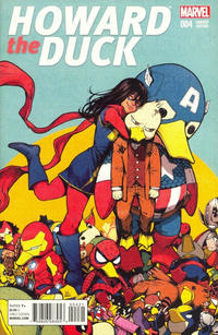 Cover Thumbnail for Howard the Duck (Marvel, 2016 series) #4 [Variant Edition - Kamome Shirahama Cover]