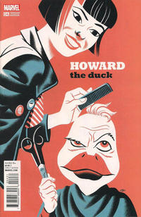 Cover Thumbnail for Howard the Duck (Marvel, 2016 series) #4 [Variant Edition - Michael Cho Cover]