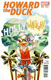 Cover Thumbnail for Howard the Duck (Marvel, 2016 series) #1 [Variant Edition - Movie Image - Yasmine Putri Cover]