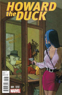 Cover Thumbnail for Howard the Duck (Marvel, 2016 series) #1 [Variant Edition - Bob McLeod Cover]