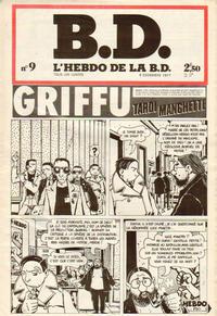 Cover Thumbnail for BD : L'hebdo de la B.D. (Éditions du Square, 1977 series) #9