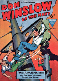 Cover Thumbnail for Don Winslow of the Navy (L. Miller & Son, 1952 series) #117