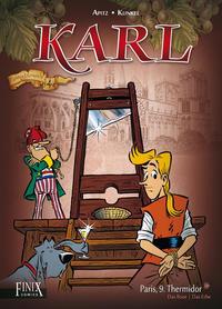 Cover Thumbnail for Karl (Finix, 2017 series) #4 - Paris, 9. Thermidor
