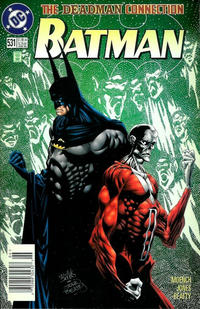 Cover Thumbnail for Batman (DC, 1940 series) #531 [Standard Edition - Newsstand]