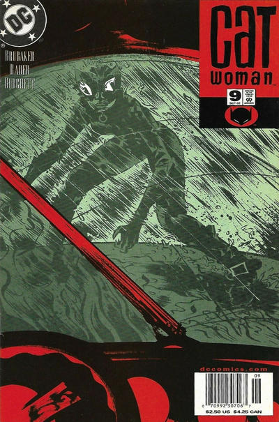 Cover for Catwoman (DC, 2002 series) #9 [Newsstand]