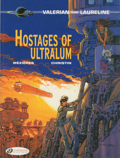 Cover for Valerian and Laureline (Cinebook, 2010 series) #16